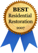 Best Residential Restoration of the Year Award, 2007 logo
